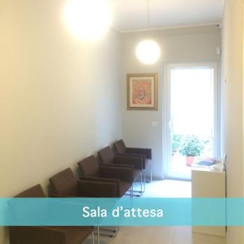 La Sala di Attesa dello Studio Dentistico Scorca a Bari