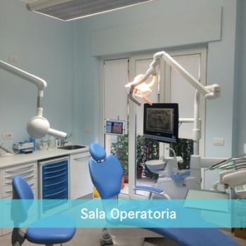 La Sala Operatoria dello Studio Dentistico Scorca a Bari