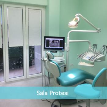 La Sala Protesi dello Studio Dentistico Scorca a Bari